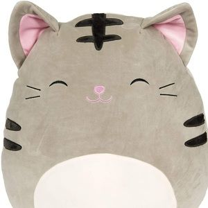 Squishmallow Tally Grey Tabby Cat Size Large Plush